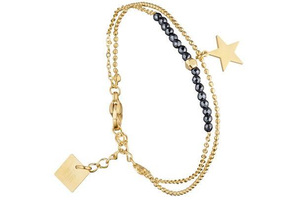 Bracelet chaîne étoile, dorure or jaune Zag Bijoux