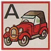 První písmenko z abecedy