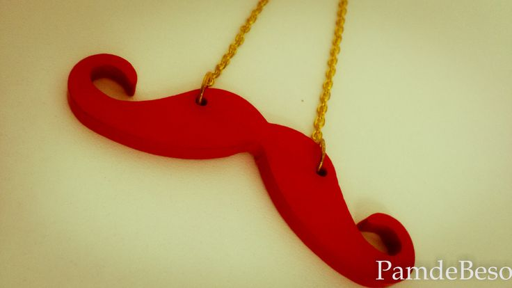 #Necklace‬ ‪#‎mustache‬ ‪#‎Fashion‬ ‪#‎Pamdebeso‬
