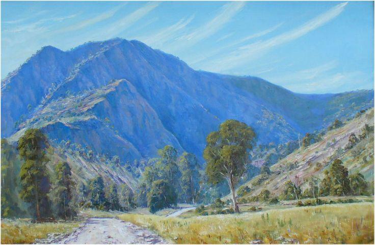 """Flinders Ranges, South Australia"" Oil on canvas"