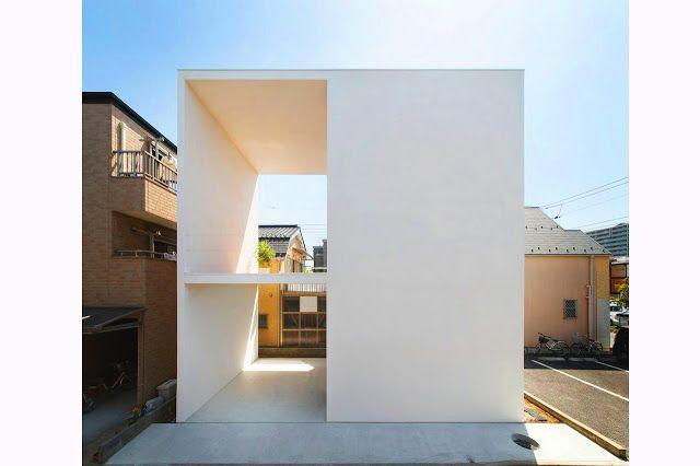 Little House dengan Big Terrace Karya Takuro Yamamoto