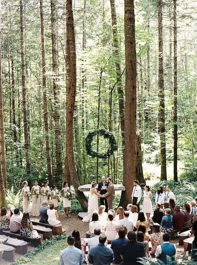 Pin By Eric Heard On The Perfect Day Forest Wedding Venue Woodland Wedding Wedding Ceremony
