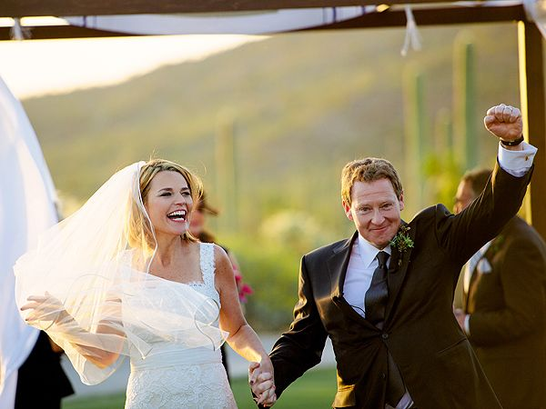 Savannah Guthrie wedding