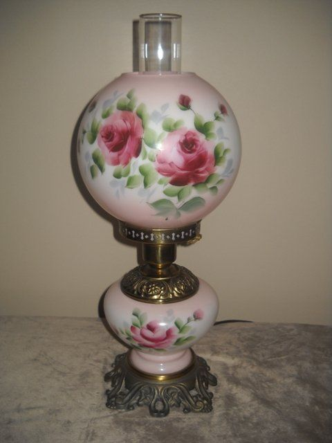 Gwtw Hurricane Parlor Banquet Table Lamp Gone With The