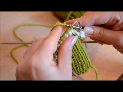 "Вязаные варежки - это просто! Knitted mittens - it""s easy! - YouTube"