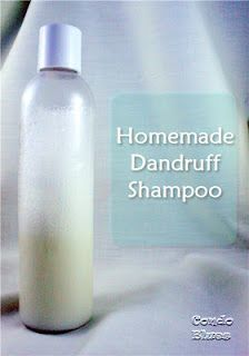 How to make dandruff shampoo. It works!