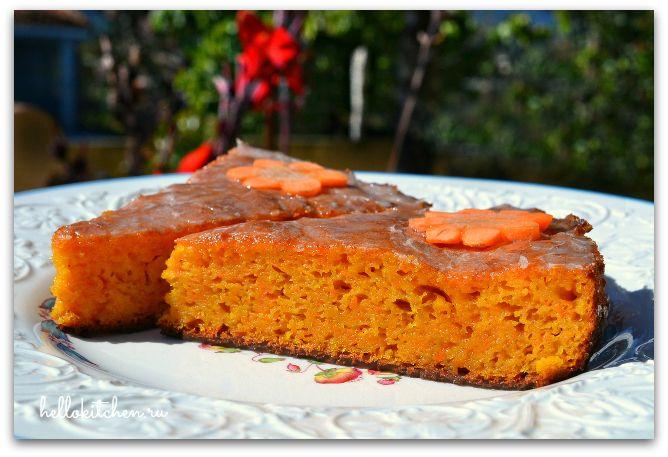 Морковный пирог 00-