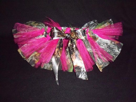 Outfit? with a bow of course :)    Mossy Oak Camo Tutu by princesstutus2010 on Etsy, $25.00