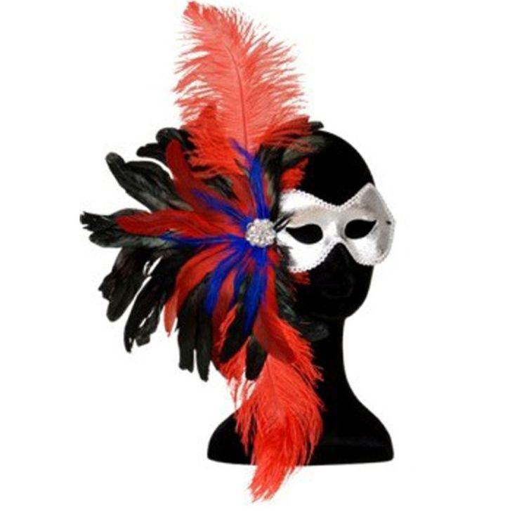 maschera di carnevale veneziana http://www.lefestediemma.com/shop/it/carnevale-e-costumi/393-maschera-gran-ballo-1-maschera-rossa-8003558643707.html