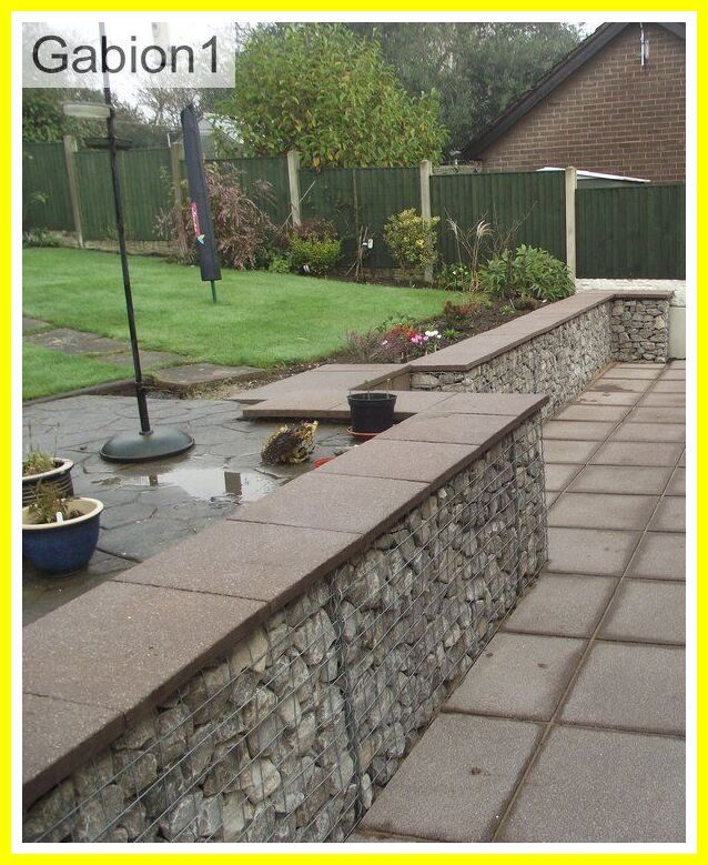 108 Reference Of Bench Wall Concrete In 2020 Gabion Wall Stone Walls Garden Outdoor Stone