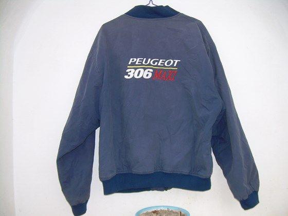 Distressed ,French Work Jacket Blue bomber jacket Peugeot France