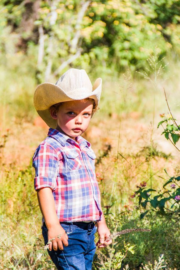 Little cowboy so quite isn't he Photographer Daniel L Meyer