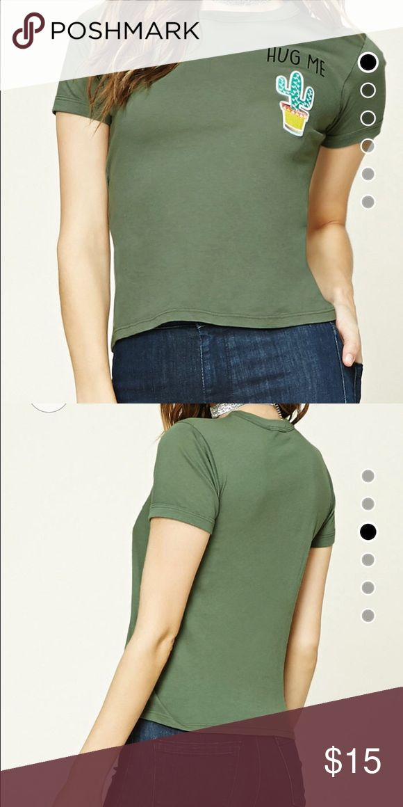 forever 21 shirt never worn. if you wanna see a picture of the actual shirt, let me know! Forever 21 Tops Tees - Short Sleeve