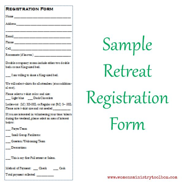 Retreat Evaluation Form. Making A Difference Training Evaluation