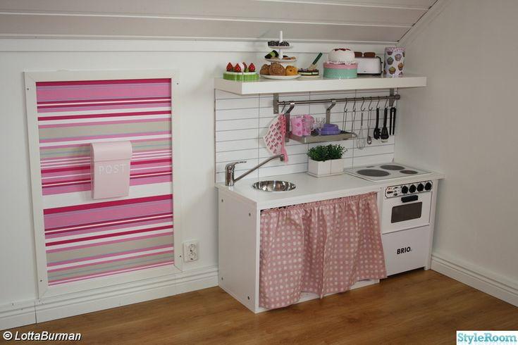 barnrum,rosa,barnkök,bruka,bombadill