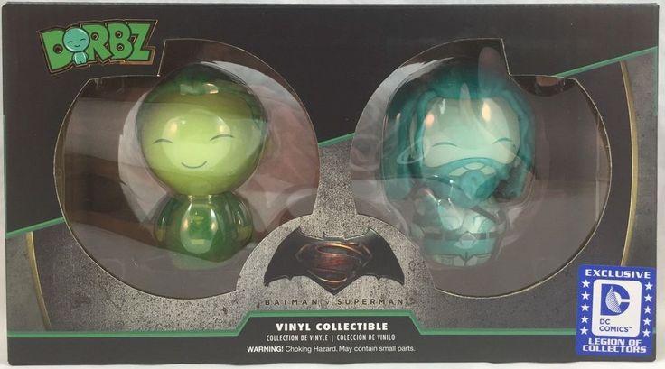 Dorbz SUPERMAN + AQUAMAN 2-Pack Batman Vs Superman Legion of Collectors FREE/SHP