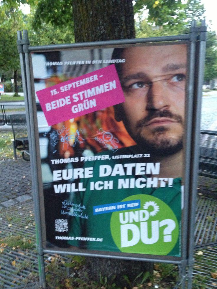 Thomas Pfeiffer, vielen bekannt als Organisator des Twittwochs, stellt sich in München zur Wahl. 10.September 2013  #wahlstory #platz22 Thomas Pfeiffer Platz 22 http://thomas-pfeiffer.de/
