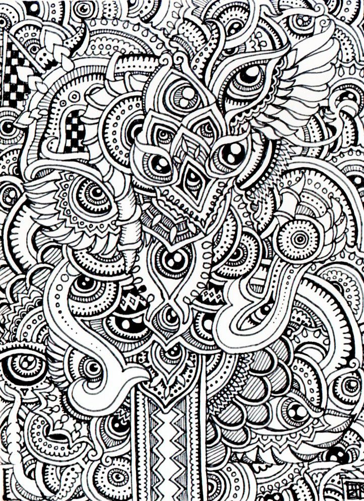 zentangles coloring pages more pins like this at fosterginger pinterest - Zentangle Coloring Book