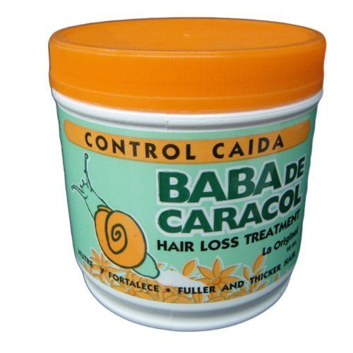 Hair Loss Treatment Control Caida Baba De Caracol!!! by HealthLink. $14.52. Fuller and Thicker Hair. BABA DE CARACOL Hair Loss Treatment containing collagen and allantoine acts deep within the root of your hair to prevent hair loss and breakage, thinning hair will become stronger, smoother and shinier with it's continous application. Directions : Once a week apply to damp hair before shampooing. Leave in for 10 to 15 minutes, shampoo and rinse out with warm water. Deeply repairs...