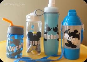 A Little Tipsy: Make a Water Bottle