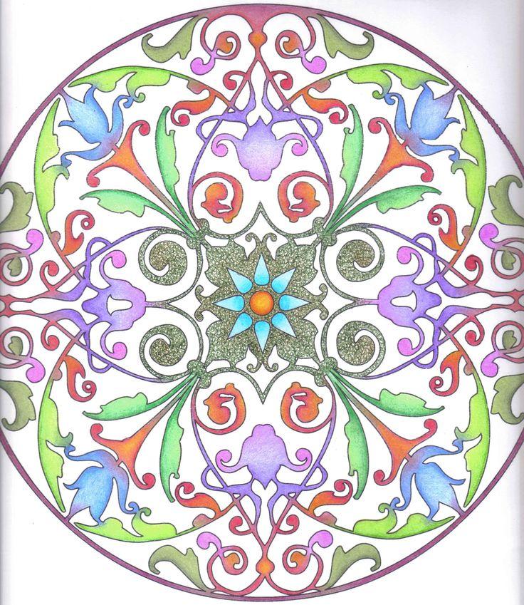 Mejores 44 im genes de mandalas en pinterest imagenes de - Colores para mandalas ...
