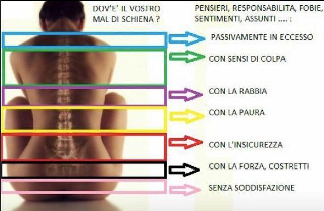 Una lettura psicosomatica del mal di schiena può aiutare a comprendere le cause più profonde del disagio. I dolori e le malattie che ci affliggono sono il modo che il nostro corpo ha per segnalarci una condizione di malessere. Questo vale ancor di più per il mal di schiena se ovviamente escludiamo patologie specifiche di …