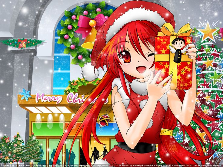 244 best Christmas Anime images on Pinterest | Merry christmas ...