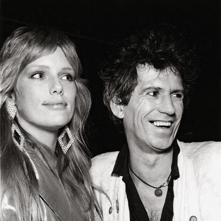 Patti Hansen and Keith Richards. -Wmag