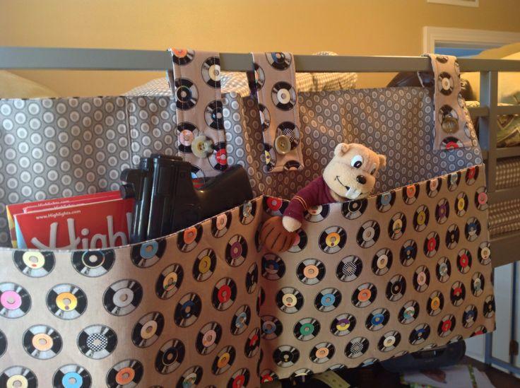SewMod bunk bed caddy
