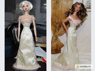 a huge list of free barbie doll clothes, some dresses are elaborate and amazing!