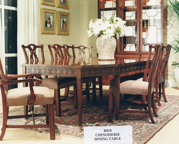 Ralph Lauren Chinoiserie Dining Table (Retired / Vintage)  Www.PacificHeightsPlace.com