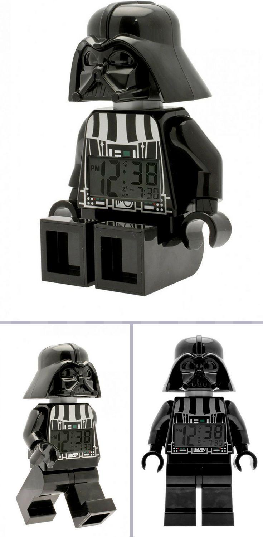 Lego Star Wars Darth Vader Minifiguren Wecker Schwarz Coole
