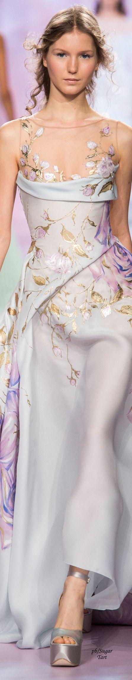 El estilo floral esta de moda esta primavera... Edition by Georges Chakra - Spring 2017 Couture