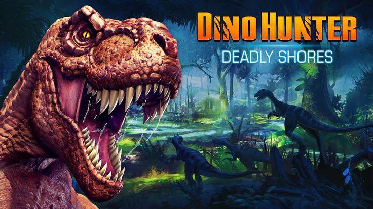 Dino Hunter: Deadly Shores v3.0.2 (Mega Mod) Apk Mod  Data http://www.faridgames.tk/2017/03/dino-hunter-deadly-shores-v302-mega-mod.html