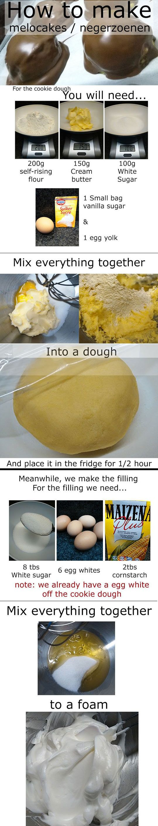 How To Make Melocake.......or.......or I could just go buy some wagon wheels.... Nummy!!