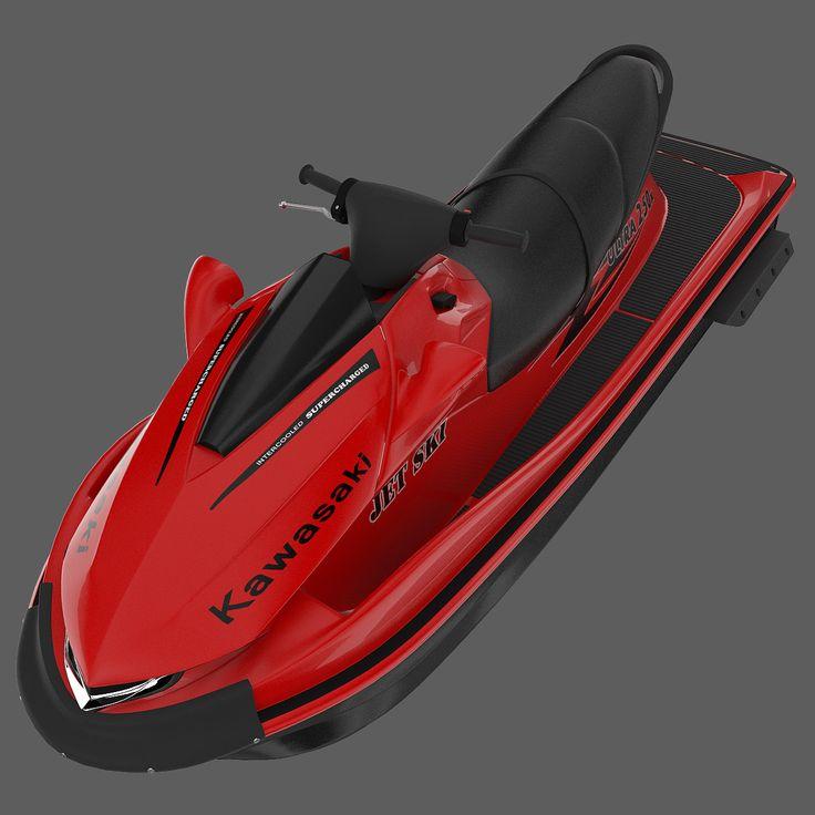 kawasaki ultra 250x jet ski 3d 3ds