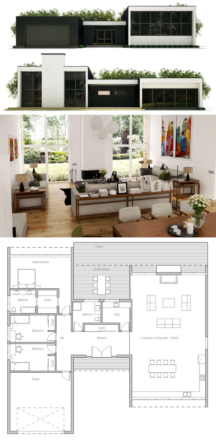 189 best images about home plans single story on for House plans for senior living