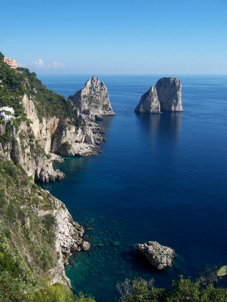 Capri, refuge de la Dolce Vita, Italie (Capri, Italy)