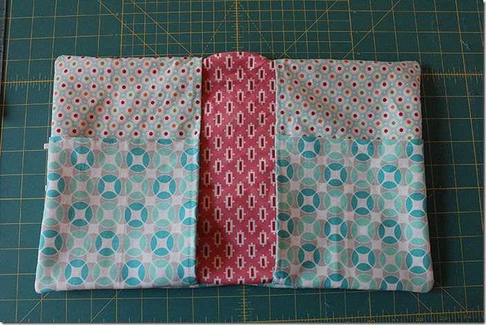 Notebook Cover Tutorial - great idea to add pockets to the inside flaps :)