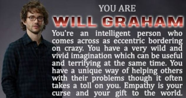 Which 'Hannibal' Character Are You?