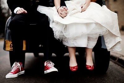 groom in chucks! it'll take some convincing on my part but I'm determined