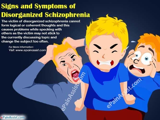 Signs & Symptoms of Disorganized Schizophrenia or Hebephrenic Schizophrenia & its Diagnosis