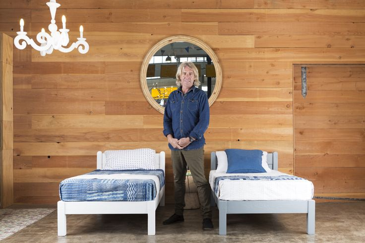 Twin kids beds by Mark Tuckey @louellatuckey #feastwatson #upcycle #salvos #relove @salvosstores