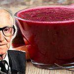 Les cellules cancéreuses meurent en 42 jours: le jus élaboré par le célèbre médecin autrichien va détruire les cellules cancéreuses