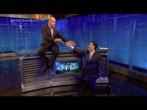 Mauro Ranallo and Bas Rutten Bloopers - YouTube