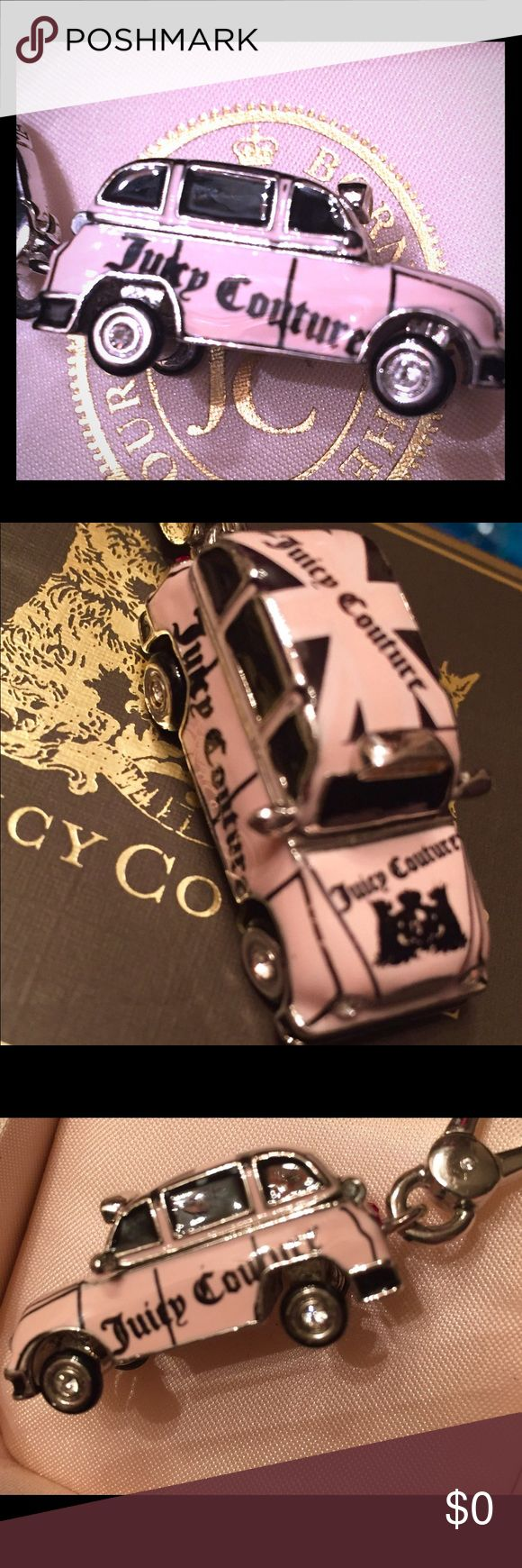 Juicy Couture Pink British taxi cab charm. Juicy Couture Pink British taxi charm. Not for sale, just sharing from my personal collection. Juicy Couture Jewelry