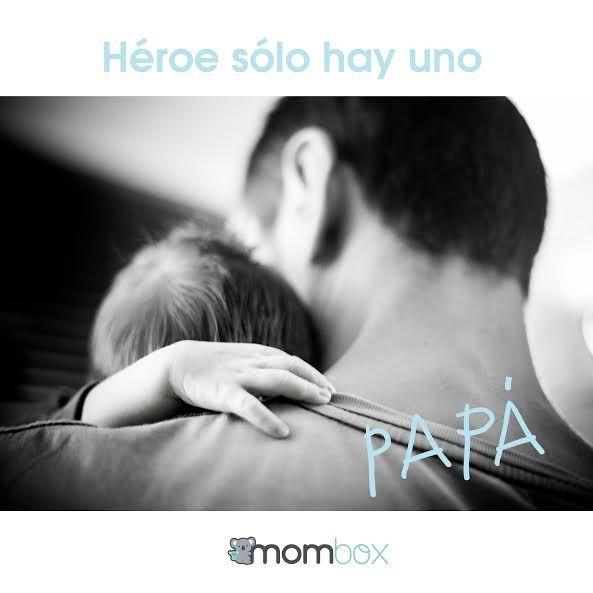 Para nuestros hijos sólo hay un héroe, y eres tú papá. ¡Feliz noche a todos los Súper Papás! #MiSuperHeroe #Mombox #Papa #Daddy #hero #Dad