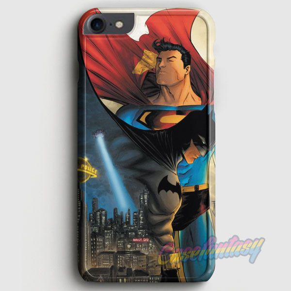 Batman Vs Superman Comic iPhone 7 Case | casefantasy