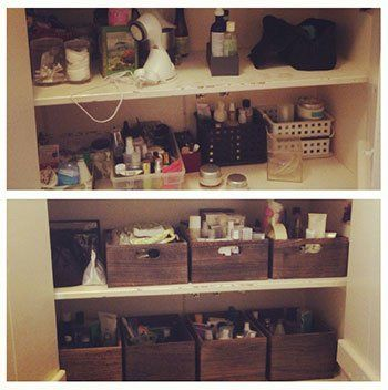 Mayim Bialik -Bathroom Before and After Pictures - Big Bang Theory Actress Mayim Bialik Hires an Organizer And You'll Never Guess What Happened [http://www.organizingla.com/organizingla_blog/2015/03/big-bang-theory-actress-mayim-bialik-hires-an-organizer-and-youll-never-guess-what-happened.html