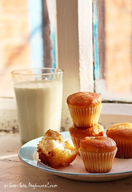 """Несу рецепт Анечке lifetastesgreat для ФМ """"ГОТОВИМ БЫСТРО!"""" кексы: сливочное масло - 120 г. (или жирная сметана) сахар - 160 г. (без малого 1 стакан) мука - 160 г. (1,5 стакана)…"""